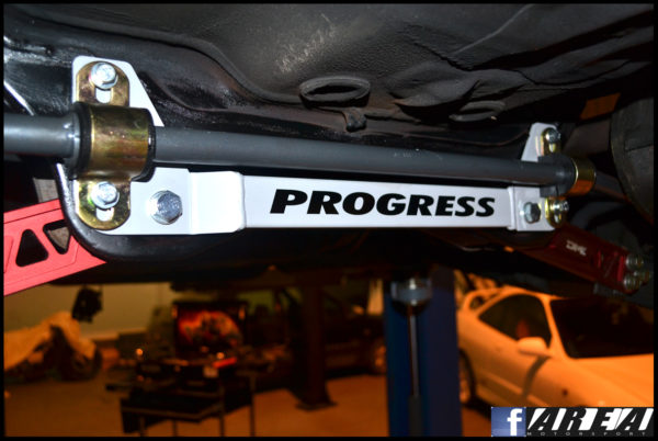 Progress 24mm Rear Anti Roll Bar Full Kit Civic Type R EP3