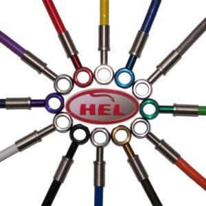 HEL Braided Brake Line Kit Honda Civic EP3 Type R