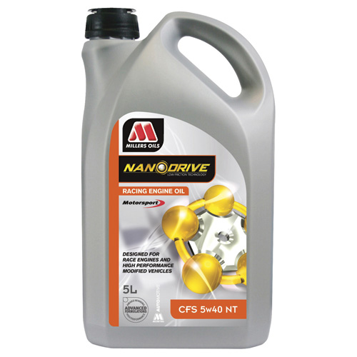 5LTRS Millers NanoDrive 5w40 Civic Type R Service