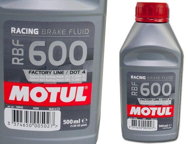 Motul RBF600 Performance Brake Fluid TRACK 500ml