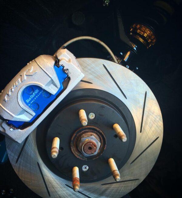 Racing Performance Brake Discs Civic Cup EP3 Type R F