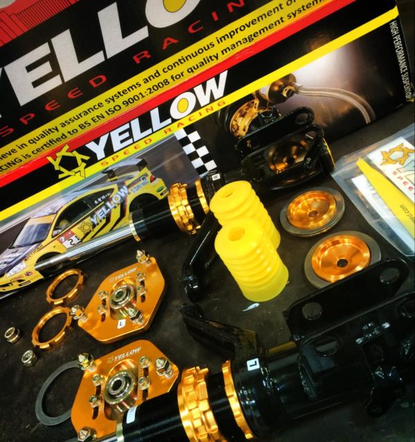 Yellow Speed Coilovers - DC5 Integra Type R