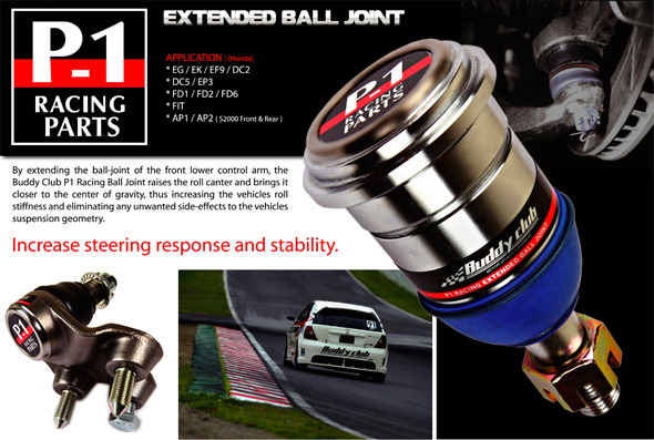DC5 Integra Type r - Buddyclub Roll Centre Adjusters 43mm